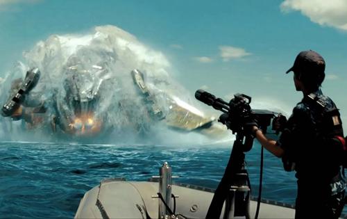 Морской бой против инопланетян