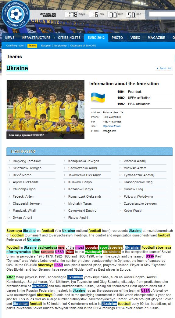 Sbornaya Ukraine on football – как «профессионалы» Януковича английский язык к ЕВРО-2012 учили