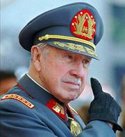 Пиночет в Чили уже не диктатор, а «глава военного режима»