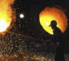Чистый убыток Днепропетровского металлургического завода - 806,65 млн. гривен