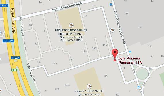 ЖЭК № 805. Святошинский район, Киев - телефон, адрес
