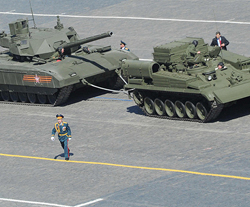 Москва разместит в Крыму новую танковую армию и ее штаб