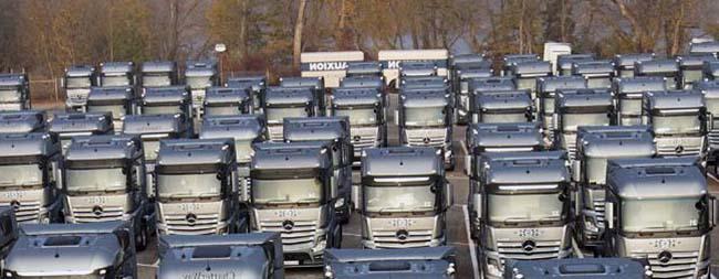Рынок грузовых автомобилей Украины въезжает в 2017 с оптимизмом