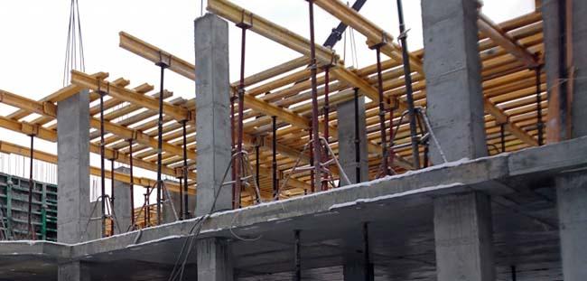 Монолитное строительство: правильная опалубка перекрытий