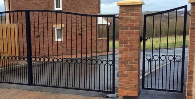 Въездные ворота дизайн