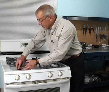 Дверца газовой плиты ремонт