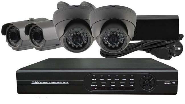 Готовые комплекты видеонаблюдения: состав и преимущества