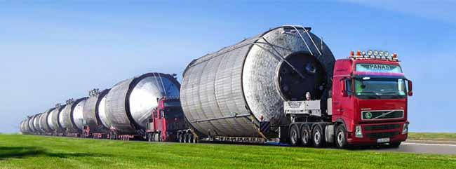 Негабаритные перевозки: доставка нестандартных грузов автомобильным транспортом