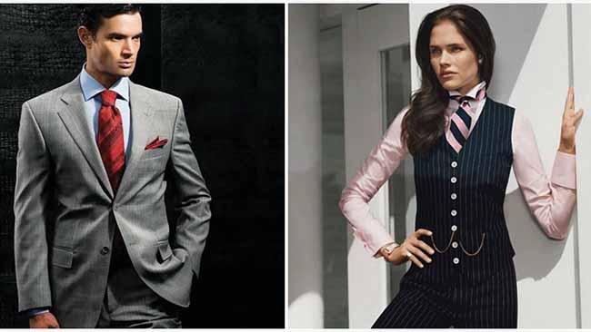 Отличия мужского галстука от женского