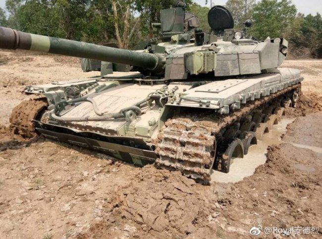 Украинский танк «Оплот» на службе в Таиланде (опубликованы фото)