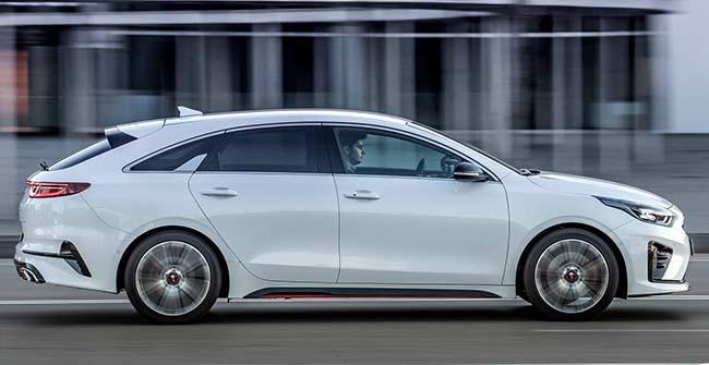 KIA Proceed 2019: имиджевый автомобиль для Киева