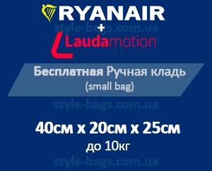 ручная кладь Ryanair 40 см х 20 см х 25 см