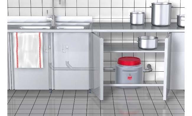 Стоп засорам: выбираем кухонный жироотделитель под мойку