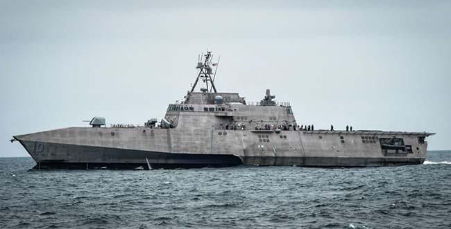 Перший американський корабель LCS отримав протикорабельні ракети NSM