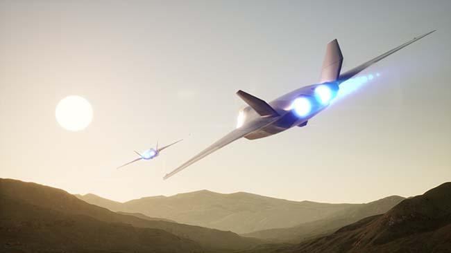 Истребитель 6-го поколения серийно взлетит в 2040 году