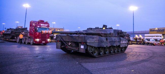 Фінляндія отримала всі закуплені танки Leopard 2A6NL