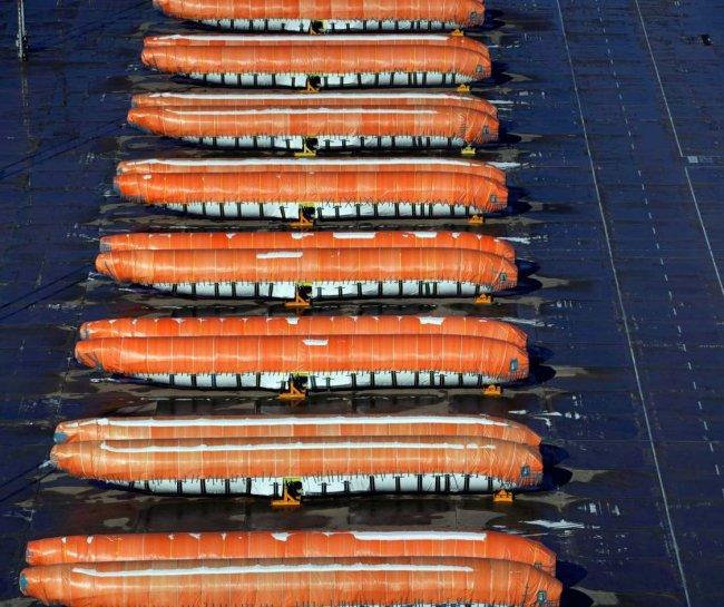 Фотофакт: как Boeing превратился в «сосиски»