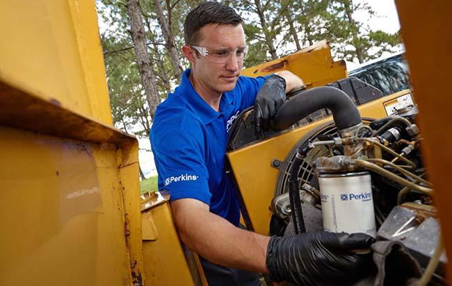 обслуживание и ремонт дизельных двигателей Perkins